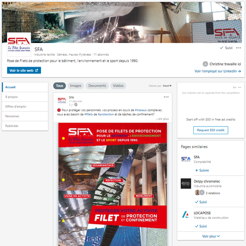 LinkedIn SFA