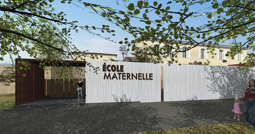 Actualité 1039 - ECOLE MATERNELLE - VALENCE-SUR-BAÏSE