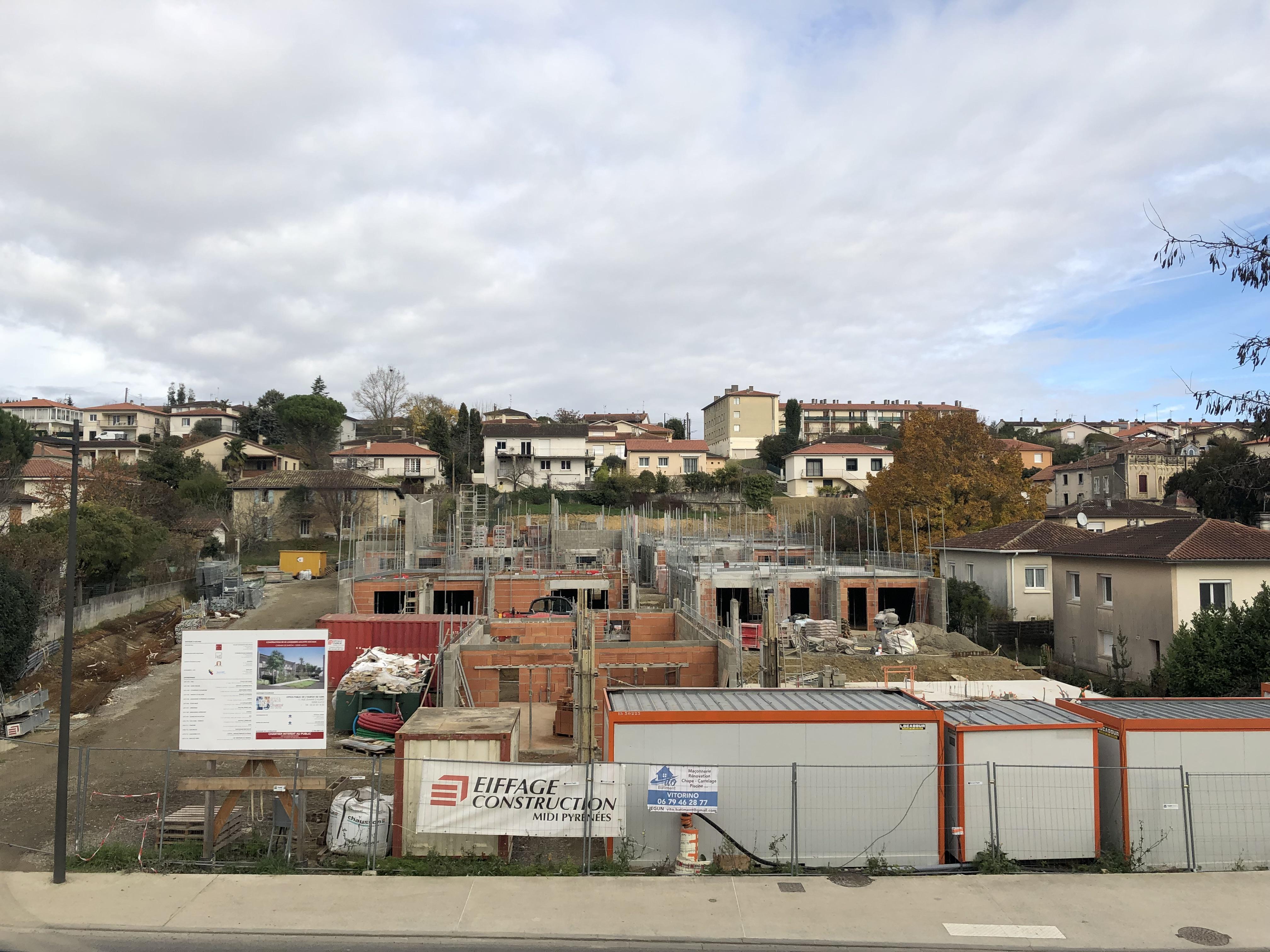 Actualité CONSTRUCTION DE 22 LOGEMENTS SOCIAUX