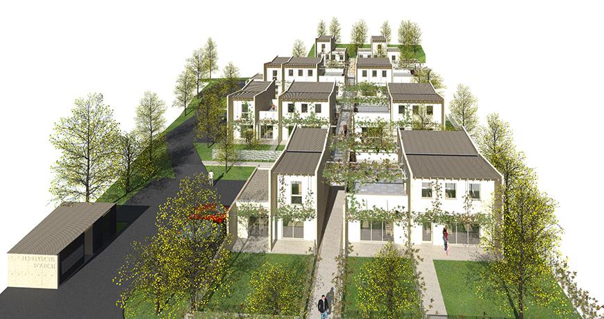 Actualité 1052 - CONSTRUCTION DE 22 LOGEMENTS SOCIAUX